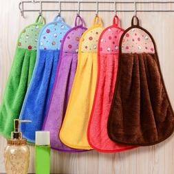 1/2PCs Hand Towel Home House Soft Plush Fabric Kitchen Towel