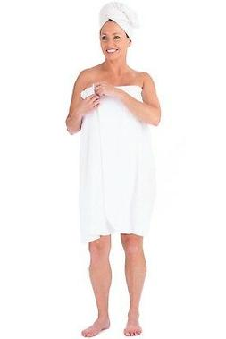 1 new body wrap towels 30x60 jumbo white bleach safe bath to