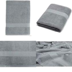 Maura 100% Cotton Bath Sheets Oversized 35x70 inch Extra Lar