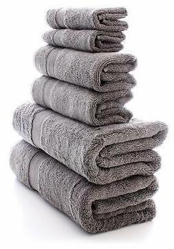 Chakir Turkish Linens 100% Turkish Cotton 6-Piece Towel Set
