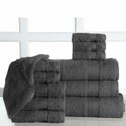 12-Piece Luxury Deluxe Bath Towel Sets with Oversized Bath S