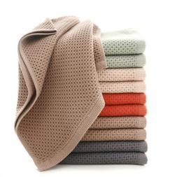 1pc cotton super soft Honeycomb <font><b>Towel</b></font> So