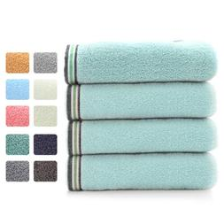 2/6/12pc 100% Cotton Hand Towels Soft Absorbent Face Sheet G