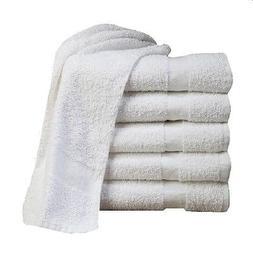 24  cotton economy bath towels utility grade 20x40