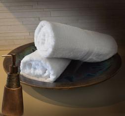 2New Premium Bath Towels 30X52 WMonogram UChoose Elegant Wed