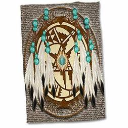 3D Rose Designer One of A Kind Native American Art Hand/Spor