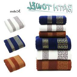 3pcs Luxury Soft Cotton Towel Bale Sets Face Hand Bath Towel