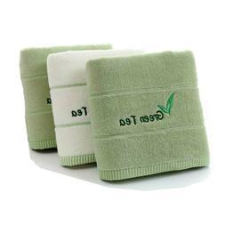 3Pcs Soft Bath Towel Face Towel Sets Cotton Towel Absorbent