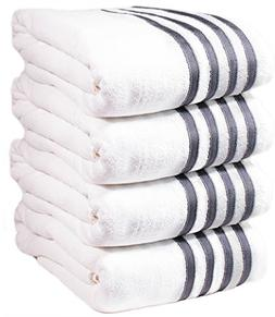 4 Premium Oversized Pool/Beach Towels.  5 Star Resort Luxury