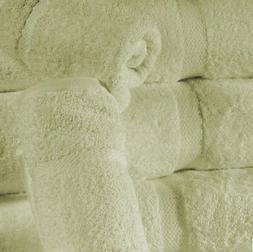 6 pack gift set luxury bath towels set soft plush cotton hot