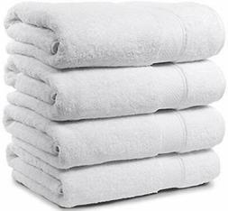 "Maura 4 Piece Bath Towel Set. Extra Large 30""x56"""