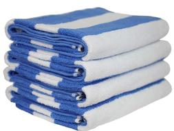 4 pieces Pack- 30x70 inches-XLarge Pool/Beach Cabana Towels
