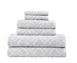 Classic Turkish Towels 6 Piece Cotton Bath Towel Set - Luxur