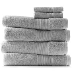6 Piece Towel Set 700 GSM Ultra Soft 100% Cotton Towels Bath