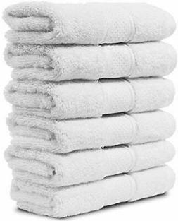 Maura 6 Piece Washcloths Set 13x13 inches Premium Quality Tu