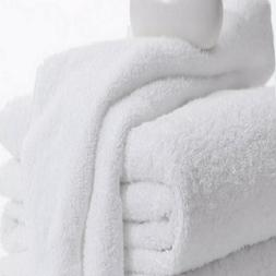 Bath Towels hotel motel gym salon 6 Pack 22x44 inches White