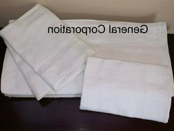24 Bath Towels Hotel Motel SPA Salon GYM Towel White 20X40 i