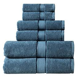 Wicker Park 600 GSM Ultra Soft 100% Cotton 6 Piece Towel Set