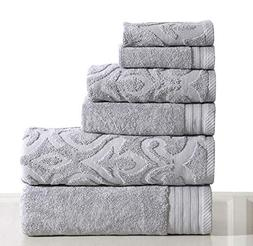 Wicker Park 600 GSM Ultra Soft Luxurious 6-Piece Towel Set :