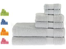 PROMIC Luxury Towel Set, 100% Egyptian Cotton - 2 Extra Larg