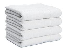 700 GSM Premium Bath Towels Set of 4 - 100% Cotton, Super So