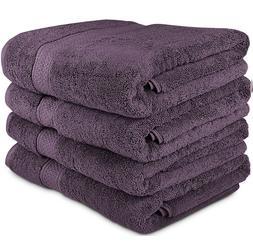 Utopia Towels 700 GSM Premium Large Bath Set - Pack of 4  Pl