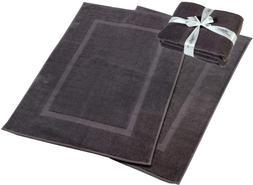 Hillfair 900 Gsm-Hotel-Spa Tub-Shower Bath Mat Floor Mat - (