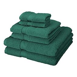 Superior 900 GSM Luxury Bathroom 6-Piece Towel Set, Made of