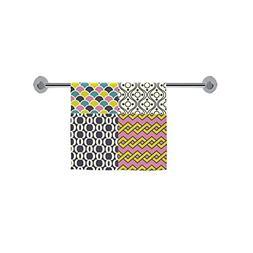 ADE Fashion Custom Towel Seamless Retro Geometric Wallpaper