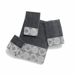 Avanti Linens Galaxy   Embellished 4-Piece Decorative Towel