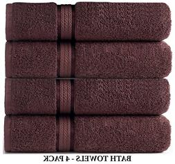 Cotton Craft 4 Pack - Ultra Soft Oversized Extra Large Bath