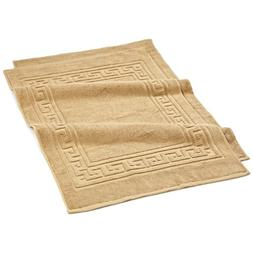 Superior Long Staple Combed Cotton 900GSM Bath Mat Set, Toas