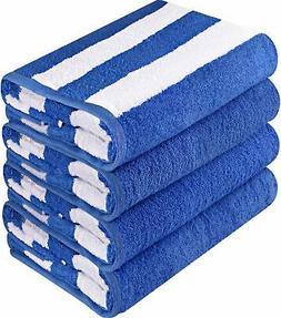 Utopia Towels Premium Quality Cabana Beach Towels - Pack of