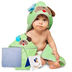 Adorable Soft Cotton Puppy Hooded Baby Towel , Large Sized:3