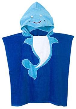 Betusline Kids Animal Hooded Bath Towel ,Whale,One Size