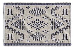 KAVKA DESIGNS Aztec Light Blue Hand Towel,  - NAVAJO Collect