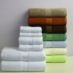 Bamboo Towel Set 6 Piece Super Soft 2-Bath Towels 2-Hand Tow