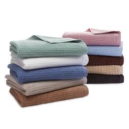Bath Hand Towels Washcloths Quick Dry Absorbent Soft Cotton
