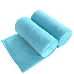 JML Bath Towel, Microfiber 2 Pack Towel Sets  - Large Size,