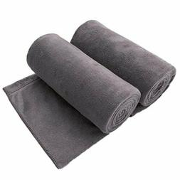 JML Microfiber Bath Towels, Bath Towel 2 Pack, Oversized, So