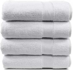 4 Piece Bath Towel Set. 2017.Premium Quality Turkish Towels.