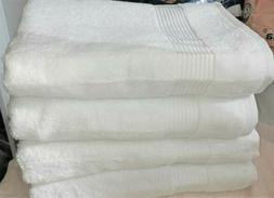 Bath Towels Luxury Turkish Cotton 4 Piece Extra Large Thick