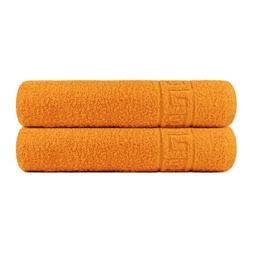 Bath Towels set 2 Bath or 2 Hand Towels Gym Spa 100% Cotton