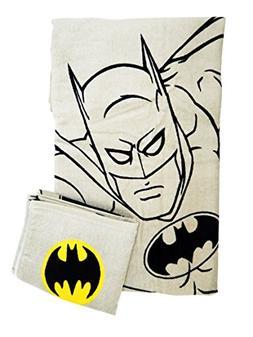 Batman Bath and Hand Towel Set