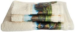 Avanti Linens Black Bear   3-Piece Multi-colored Printed Tow