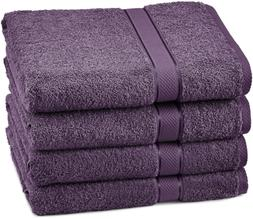 Pinzon Egyptian Cotton Bath Towel Set  - Plum