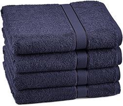 Pinzon Egyptian Cotton Bath Towel Set  - Navy