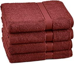 Pinzon Egyptian Cotton Bath Towel Set  - Cranberry