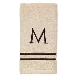 block monogram bath hand fingertip