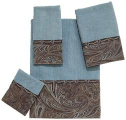 Avanti Linens Bradford  Embellished 4-Piece Decorative Towel